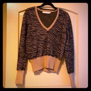 NWOT Animal print sweater